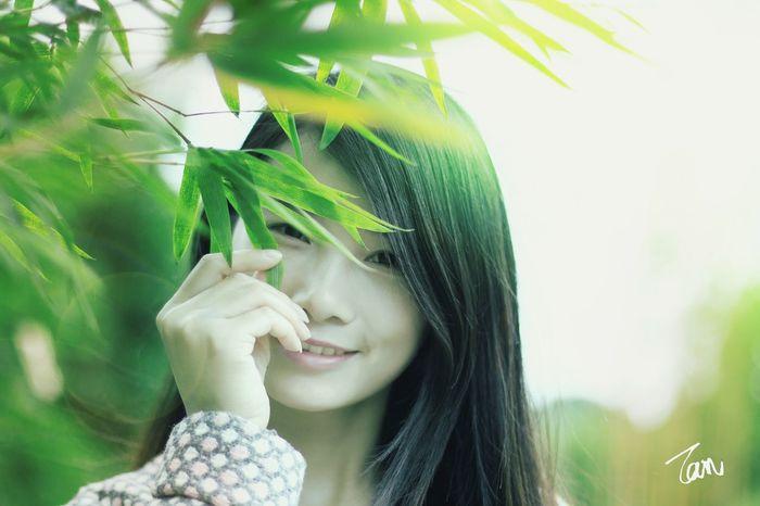 佳能 Canon 人像 美女 小清新 The Beauty Portrait Photography 摄影 Photography Enjoying Life