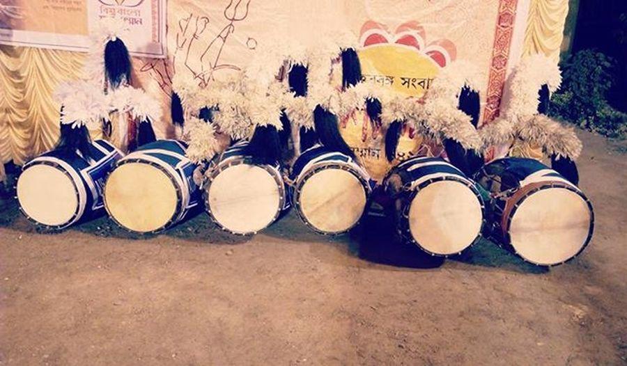 The serial of Dhak InstaDurgapuja Durgautsab Festival4fun Festival4sound Instabless .