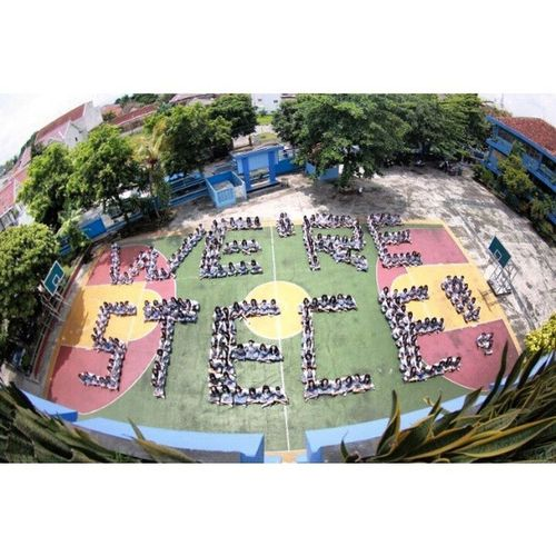 We're STECE Stece Stece1 Highschool Homogen tarakanita yogyakarta