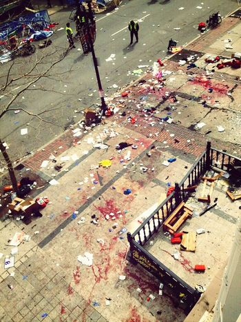 Boston marathon explosions 2013 United States Boston Marathon Pray For Boston :(