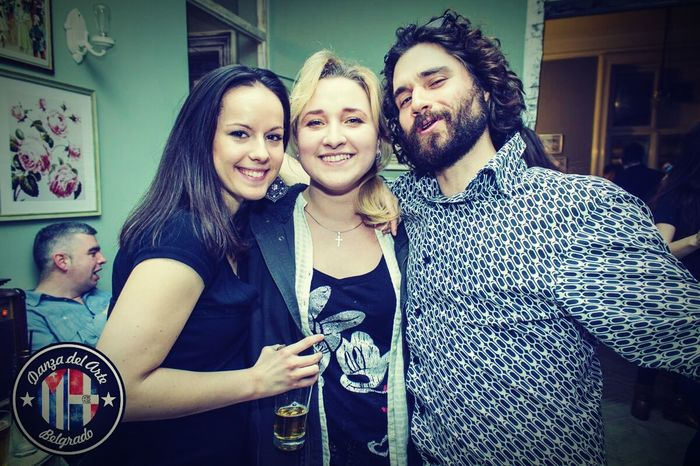 Bachata Party Nightlife Style Beard Blonde Brunette Smiling People Photography People