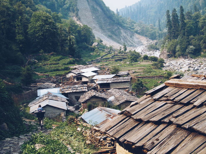 "During the entire trekking in the Himalayas, you come across such small and beautiful villages, who live cut away from the ""outside world"". Architecture Beauty In Nature Check This Out Enjoying Life Eye4photography  EyeEm Best Shots EyeEm Nature Lover Forest Hello World Incredible India Landscape Lonely Mountains Nature Non-urban Scene Outdoors Relaxing Remote Showcase June Taking Photos Tranquility Traveling Traveller Trees Village Finding New Frontiers Miles Away The Great Outdoors - 2017 EyeEm Awards The Photojournalist - 2017 EyeEm Awards Breathing Space Lost In The Landscape An Eye For Travel"