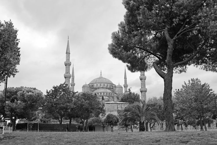 View Of Mosque Against Sky