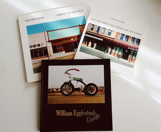 Inspiration William Eggleston Wim Wenders