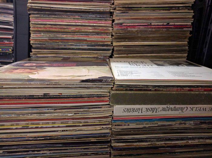 Stack o' vinyl