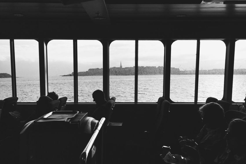 Travel... Silhouette Sea Capture The Moment Street Photography Travel Destinations City Life Boat