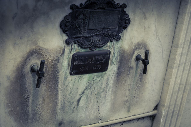 La Recoleta Cemetery, Buenos Aires, Argentina Upper class death in Argentina. The myriad of tombs and mausaleums open to the public housing the wealthy and famous of Argentine society. A macabre place of death and celebration. The Photojournalist - 2018 EyeEm Awards Architecture Close-up Communication Connection Day Door Entrance Indoors  Metal No People Number Old Retro Styled Technology Telephone Text Wall - Building Feature Western Script