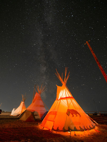 Teepees under the Milky Way Camping Wyoming Astronomy Beauty In Nature Camping Galaxy Illuminated Landscape Milky Way Nature Night No People Outdoors Shelter Sky Space Star - Space Teepee Tent Lost In The Landscape The Great Outdoors - 2018 EyeEm Awards