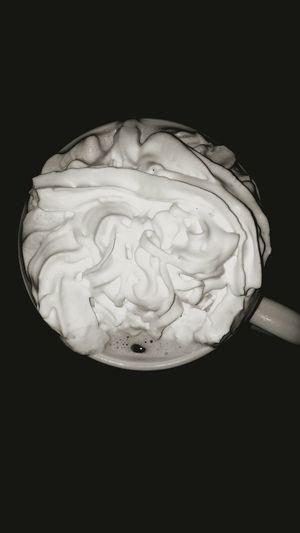 Hot coffee in the morning. Whippedcream Hi! First Eyeem Photo