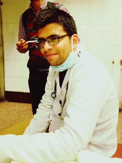 Doctors Emergencyroom Hospital Portrait Stethoscope  White Coat
