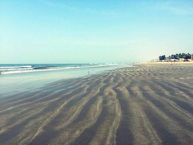 Beach Goa Sunshine Sea Relaxing India