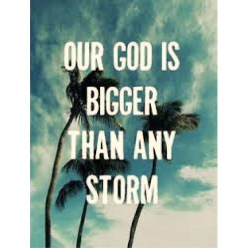 Our God is greater, stronger and higher than any other.. Be still God is bigger and powerful! You are our mighty to save Lord.. Havefaith KeepOnPraying BeSafeEveryone 😊😄😃😂😐😀☺