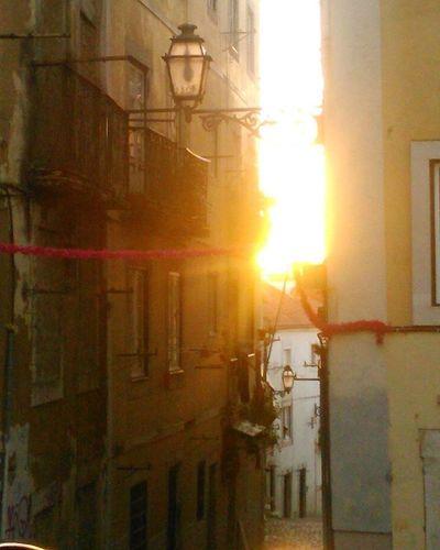 Lisbon Sunset Lisbon Street Mouraria