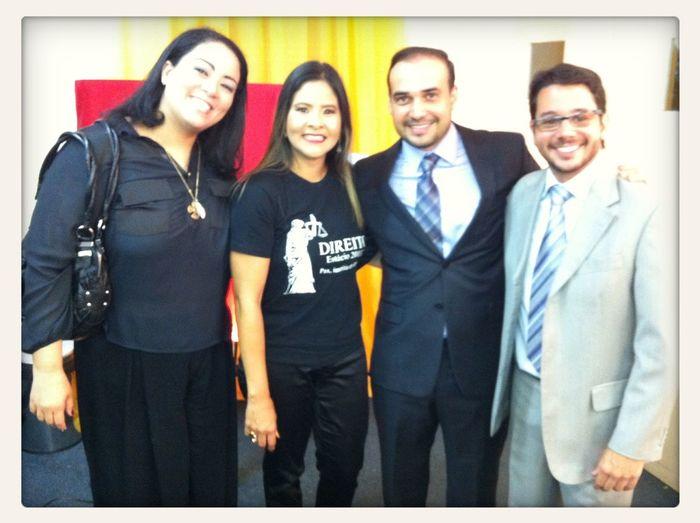 Aula da Saudade Curso de Direito da Faculdade Estacio do Recife !