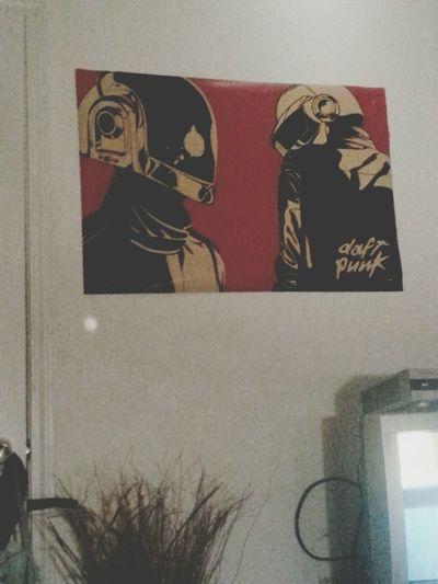 Daft Punk Poster Sound Revolution In Love