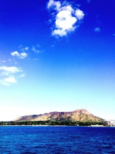 Mt. Le'ahi. Love of my life.💙💚