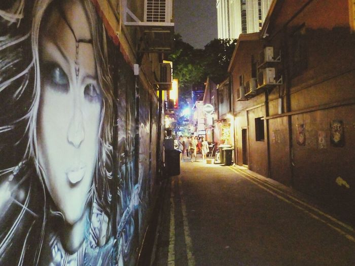 Grafitti Backstreets & Alleyways Late Night Outings 🌃