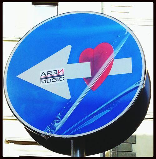 City Art Traffic Sign