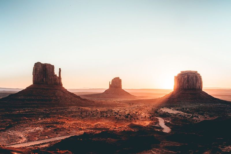 Monument Valley in the fall of 2016 Sunrise Silhouette EyeEm Best Edits EyeEmNewHere EyeEm Best Shots Nature_perfection Nature_collection Landscape Photography Landscape_photography Landscape_Collection Landscape Sunrise_Collection Sunrise_sunsets_aroundworld Sunrise EyeEm Selects Tranquility Nature Beauty In Nature No People Tranquil Scene Travel Destinations Outdoors Sunset