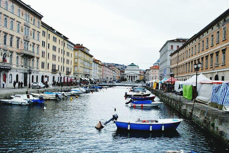 Italy❤️ Canals And Waterways Bridge Helloworld