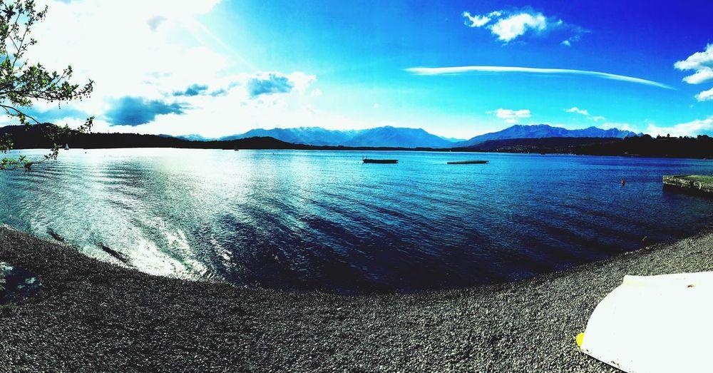 Lake Lakeshore Water Nature Naturelovers Sky First Eyeem Photo