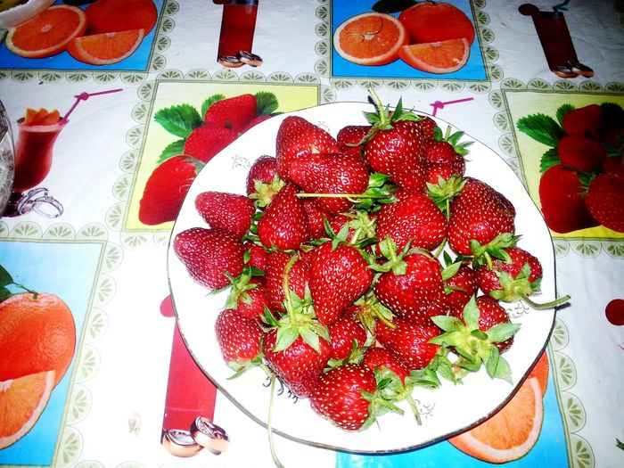 From his garden))