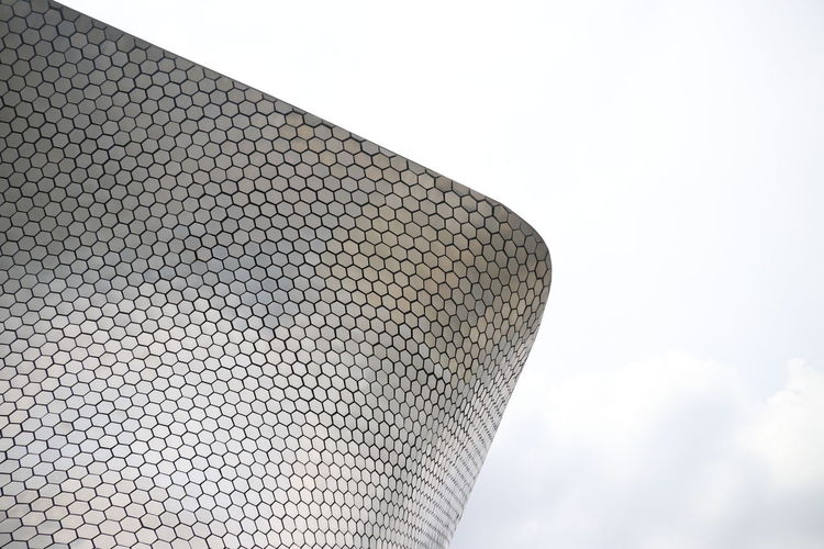 Museo Soumaya EyeEmNewHere Sky No People Architecture Pattern Modern Built Structure Modular Mexico Mexico City Polanco Cdmx Museum