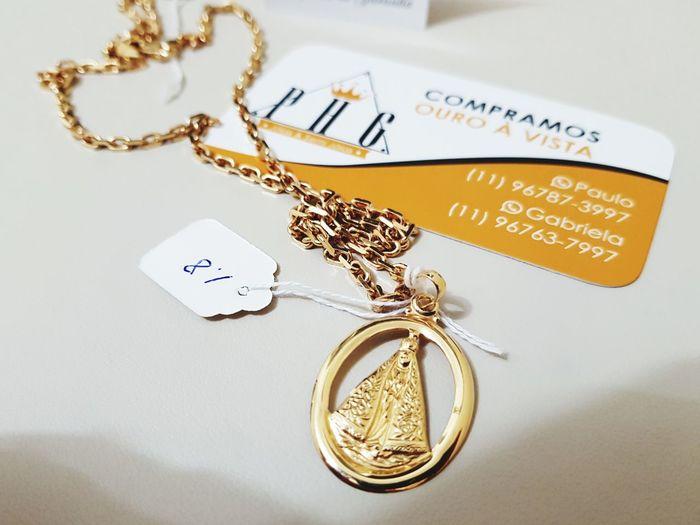 corrente em ouro 18k modelo Cartie Ouro 18k Gold Corrente Masculina Joias Cartie PHGJOIAS Ostentação Gold