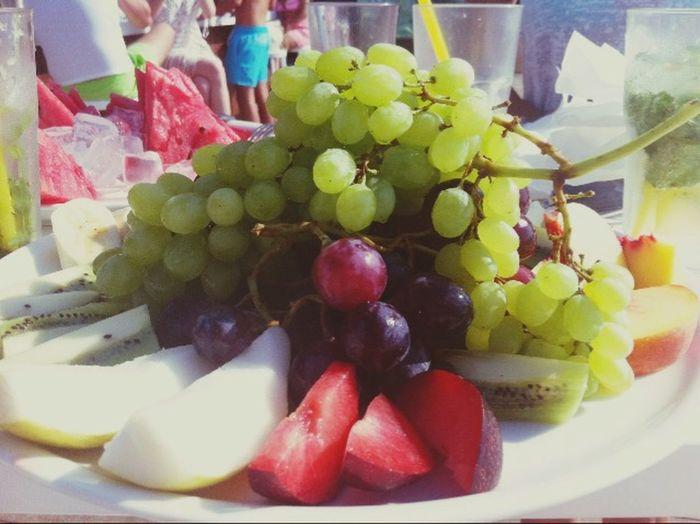 Taking Photos Enjoying Life Relaxing Sea Fruit Diet