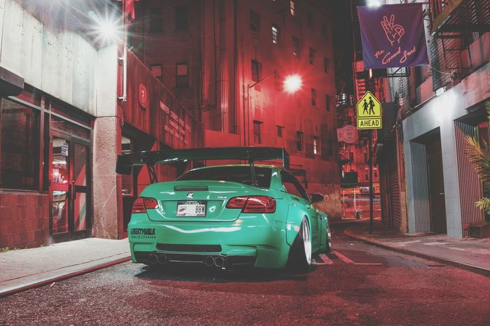 Car Red Night Street City Street Transportation City City Life Architecture Building Exterior No People Outdoors Riot Bmw Bmw Car Cars BMW M3 Bmw I ♥ It Stance Static Bmwlove Bmwmagazine Old-fashioned Drift Built Structure