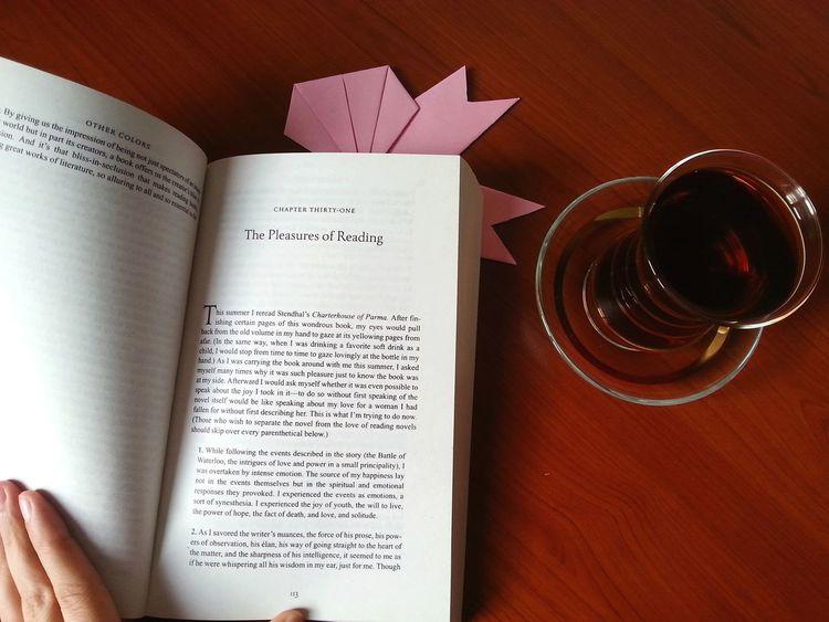 Tea Book Reading Afrernoon