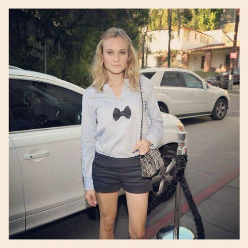 DianeKruger People Blonde Mod éle actress woman beautiful
