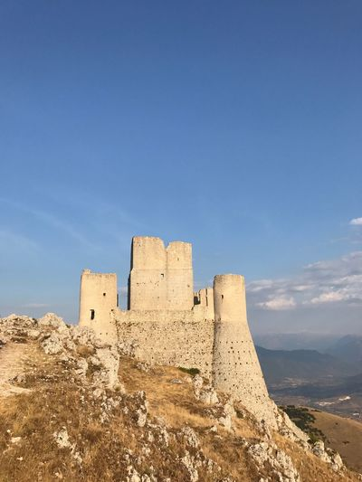 Calascio History No People Green Color Tranquility Architecture Built Structure aquila abruzzo landscape panorama sky