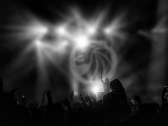 Seven Lions Edm Party Clubbing Festival Album Launch NYC Black & White