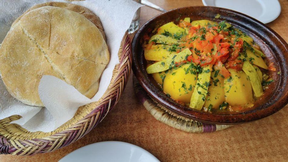Imlil Morocco Foodporn❤️ Foodporn Tajine Directly Above Food Healthy Eating Meal No People Ready-to-eat Tajine Berbère Tajine Moroccan Food Vegetable