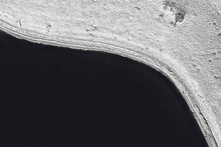 Black and white Drone  Aerial View Aerial Mavic Mavic 2 Mavic 2 Pro Birds Of EyeEm  Europe Black And White Half Water Abstract Minimalism No People Architecture Built Structure Copy Space Arch Day Close-up Outdoors Nature Low Angle View Wall Textured  Wall - Building Feature Dark Pattern Weathered History Capture Tomorrow