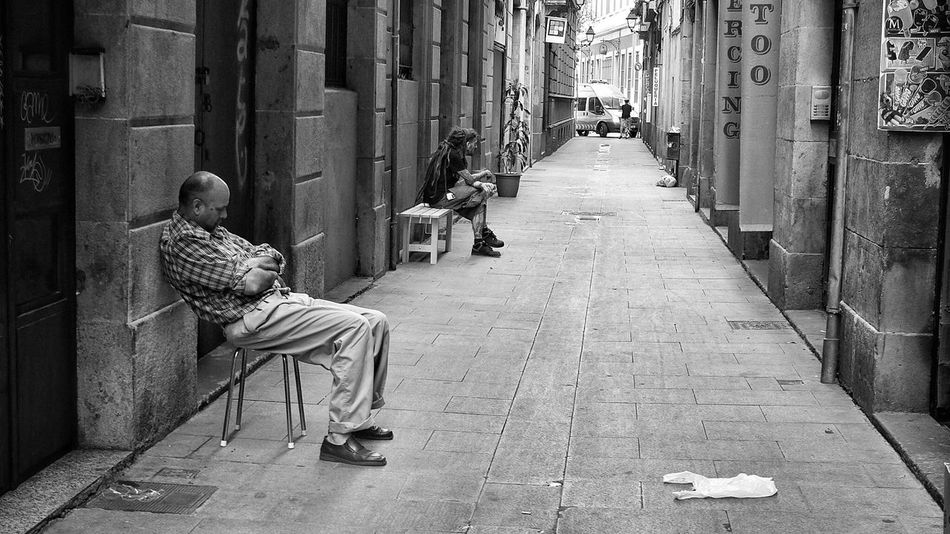 Carrer dels Còdols Streetphotography Blackandwhite Streetphoto_bw Eye4photography  Bw_collection Eye4black&white  EyeEm Best Shots