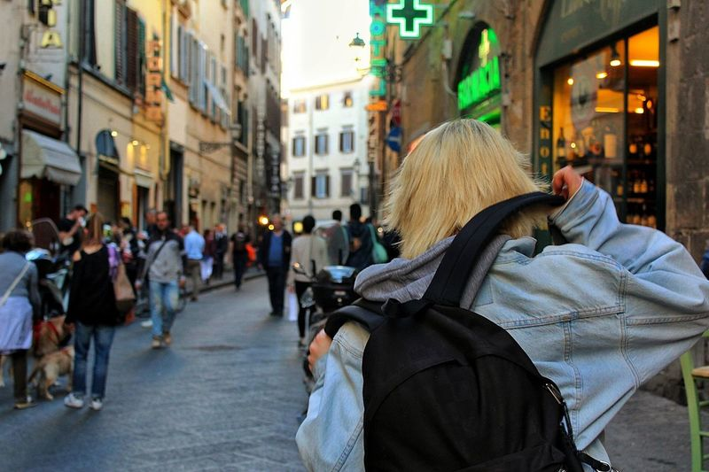 My sister in Florence. How i could not love her ? Sister Street City Women People City LifeArchitecture Day Beautiful View EyEmNewHere Myworld Loveit Mylife Sun Florence Cityscape Myplace Jean Jacket Landscape J•Gabri-zet EyeEmNewHere