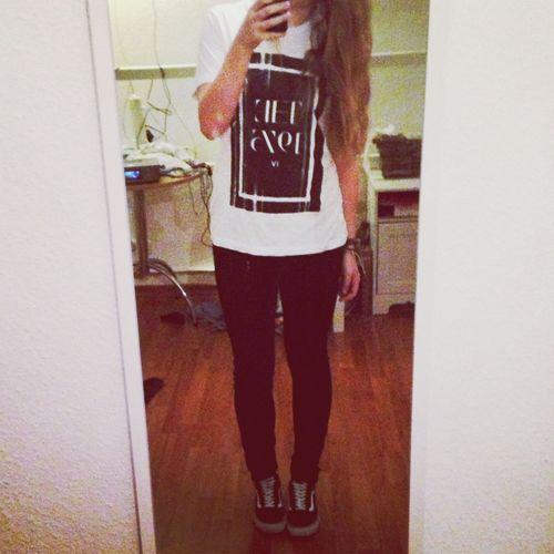 Outfitoftheday ♡ ~ Bandshirt ❀