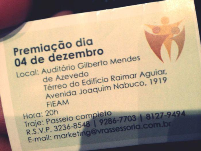 4ª Edição do Prêmio Amazonense de Propaganda e Marketing ;)