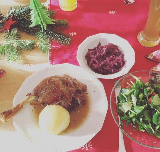Christmas Time Christmas Dinner Goose Good Times Foodporn German German Food Weihnachtsgans Weihnachten