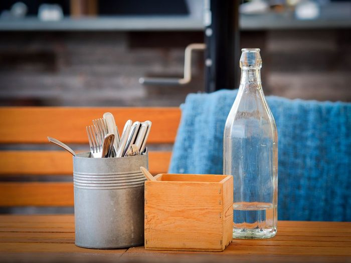 Table set Table Indoors  Fork No People Focus On Foreground Drinking Straw Close-up Day Food Desk Organizer Ready-to-eat Freshness Shallow Depth Of Field The Week On EyeEm