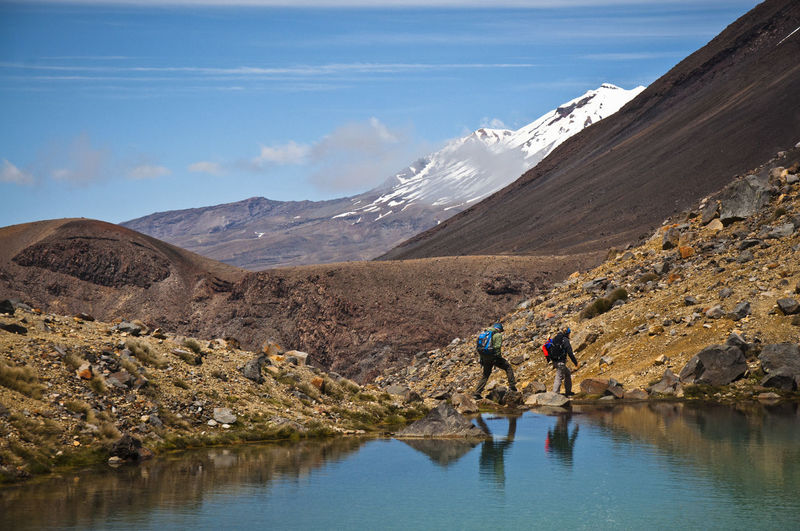 Hikers at the