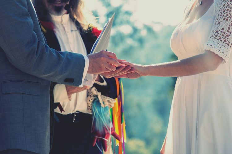 When the rings go on.... Wedding Wedding Photography Weddingdress Weddingrings