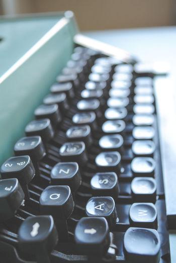 Super Retro Retro Pastel Power Writing Vintage Typewriter
