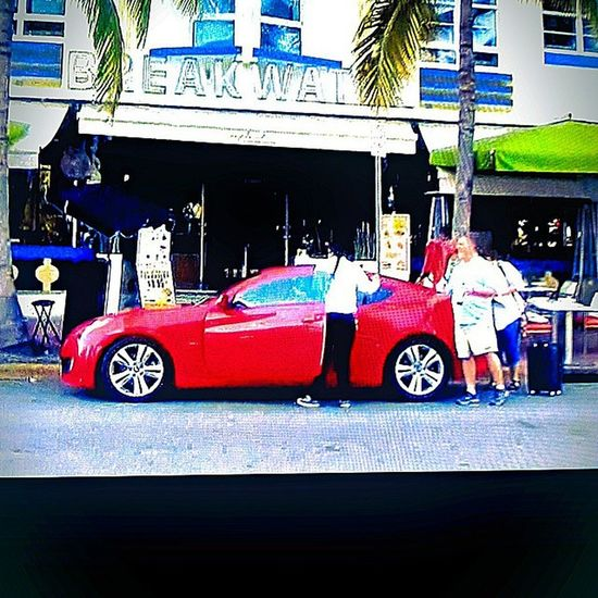 Spotted a red genny on the season premier of impractical jokers! Spotted by @_kid_nitro Kdm Hyundai Genny Gencoupe genesis boost boosted tskuba impracticaljokers trutv miami