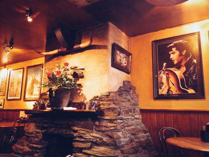 Restaurant Cowboy Cowboy Theme Elvis Presley Texmex cowboy themed restaurant in queenstown Queenstown