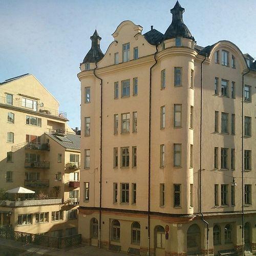 Stockholm Morning Sweden  architecture design old_building scandinavia