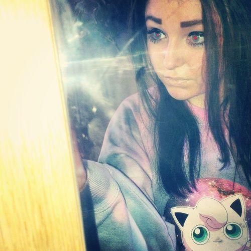 cutest jumper ever : ))) Veronicafever Instadaily Pokémon Jigglypuff selfie mirror cute