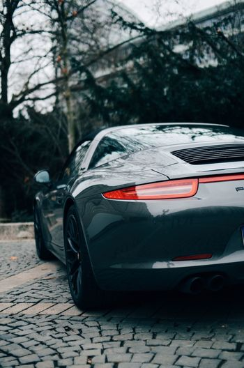 Automobile Car Cars Day Expensive Fast Industry Land Vehicle Luxury Luxurylifestyle  Motorsport No People Porsche Racecar Transportation Tree